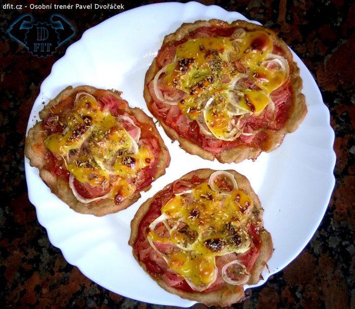 Celozrnná mini pizza