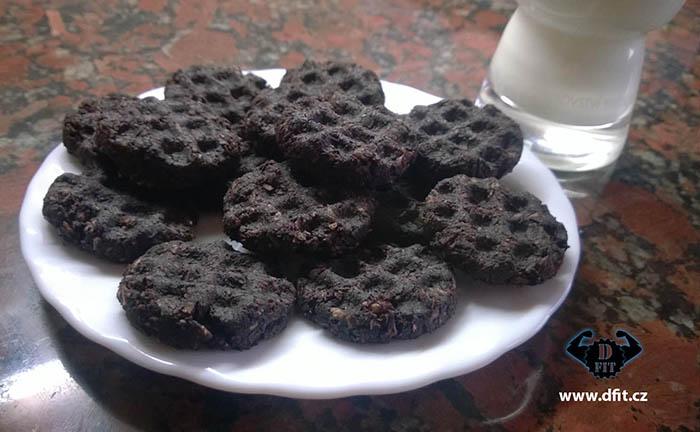 Kakaové kokosové sušenky
